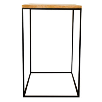 Live Simple | Wooden and Steel Plinths