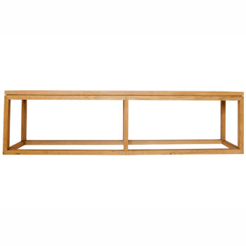 Live Simple | The Mininimalist Oak Bench