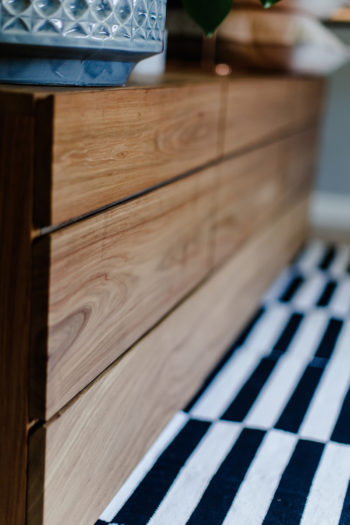 Live Simple | Kiaat Cabinet (9 drawers)