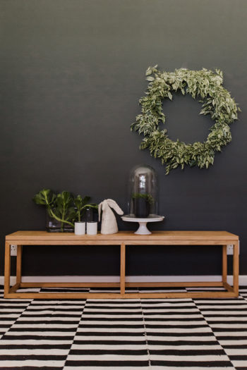 Live Simple | Oak Bench